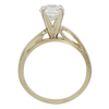 1.01 ct. Round Cut Bridal Set Ring, E, SI2 #4