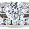 1.51 ct. Round Cut Bridal Set Ring, I, SI2 #4