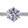 1.58 ct. Round Cut Solitaire Ring #3