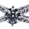 1.51 ct. Round Cut Solitaire Ring, G, VS1 #4