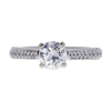 1.01 ct. Round Cut Solitaire Ring, E, I1 #3