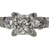 1.01 ct. Princess Cut Solitaire Ring, G, SI1 #4