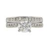 1.52 ct. Round Cut Bridal Set Ring, J, I1 #3