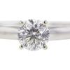 1.0 ct. Round Modified Brilliant Cut Bridal Set Ring, H, SI2 #4