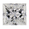 1.06 ct. Princess Cut 3 Stone Ring #1