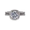 1.50 ct. Round Cut Bridal Set Ring, G, VS2 #3