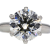 4.39 ct. Round Cut Bridal Set Tiffany & Co. Ring #2