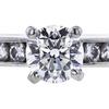 0.70 ct. Round Cut Bridal Set Ring, H, SI2 #4
