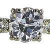 1.86 ct. European Cut Bridal Set Ring, G-H, I2 #2