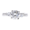 1.15 ct. Round Cut 3 Stone Ring, I, SI2 #3