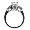 1.24 ct. Princess Cut Bridal Set Ring #3