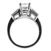 1.24 ct. Princess Cut Bridal Set Ring #3