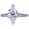 1.36 ct. Marquise Cut Solitaire Ring, G, SI1 #1