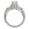 0.74 ct. Round Cut Solitaire Ring, G, SI1 #4