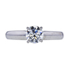 0.73 ct. Round Cut Solitaire Ring, H, SI1 #2