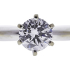 0.78 ct. Round Cut Solitaire Ring, E, IF #4