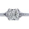 1.01 ct. Radiant Cut 3 Stone Tiffany & Co. Ring, I, VS1 #1