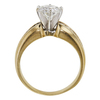 1.2 ct. Round Cut Bridal Set Ring, E, VS2 #4