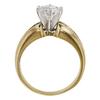 1.2 ct. Round Cut Bridal Set Ring, E, VS2 #4