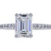 2.01 ct. Emerald Cut Solitaire Ring, F, VS1 #3