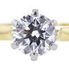 0.87 ct. Round Cut Solitaire Ring #4