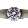 1.06 ct. Round Cut Bridal Set Ring, E-F, SI1 #1