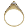 Antique GIA 0.57 ct. Pear Cut Solitaire Ring, G, VS2 #4