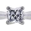 0.68 ct. Princess Cut Solitaire Ring, D, VVS2 #4