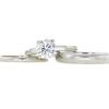 1.48 ct. Round Cut Bridal Set Ring, D, VS2 #4