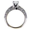 0.73 ct. Round Cut Bridal Set Ring, H, SI1 #3