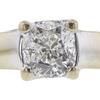 1.01 ct. Cushion Cut Solitaire Ring, E, SI1 #4