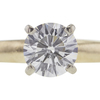 0.9 ct. Round Cut Solitaire Ring, J, VS1 #4