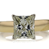 1.80 ct. Princess Cut Solitaire Ring #1