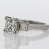 2.08 ct. Princess Cut Bridal Set Ring #3