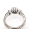 1.01 ct. Round Cut Central Cluster Ring #3