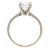 1.29 ct. Round Cut Solitaire Ring, F, SI1 #4