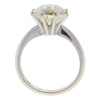 4.73 ct. Circular Brilliant Cut Solitaire Ring, M, VS2 #3