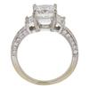 1.7 ct. Princess Cut Bridal Set Ring, E, VS2 #4