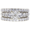 1.2 ct. Radiant Cut Bridal Set Ring, H, SI1 #3