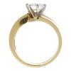 1.05 ct. Round Cut Bridal Set Ring, G, SI1 #3