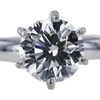 1.14 ct. Round Cut Solitaire Ring, G, VS2 #4