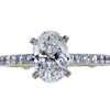 1.20 ct. Oval Cut Solitaire Ring, G, VVS2 #3