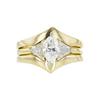 0.76 ct. Marquise Cut Bridal Set Ring, E, SI2 #3