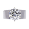 3.0 ct. Round Cut Solitaire Ring, G, I2 #3
