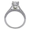 1.09 ct. Round Cut Bridal Set Ring, I-J, SI1 #3