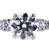 0.90 ct. Round Cut Bridal Set Ring, G, SI1 #4