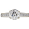 1.46 ct. Round Cut Solitaire Ring, G, I1 #3