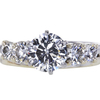 1.52 ct. Round Cut Bridal Set Ring #3
