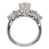 1.03 ct. Round Cut Bridal Set Ring, I, SI2 #4