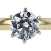 1.00 ct. Round Cut Solitaire Ring, E, SI1 #4